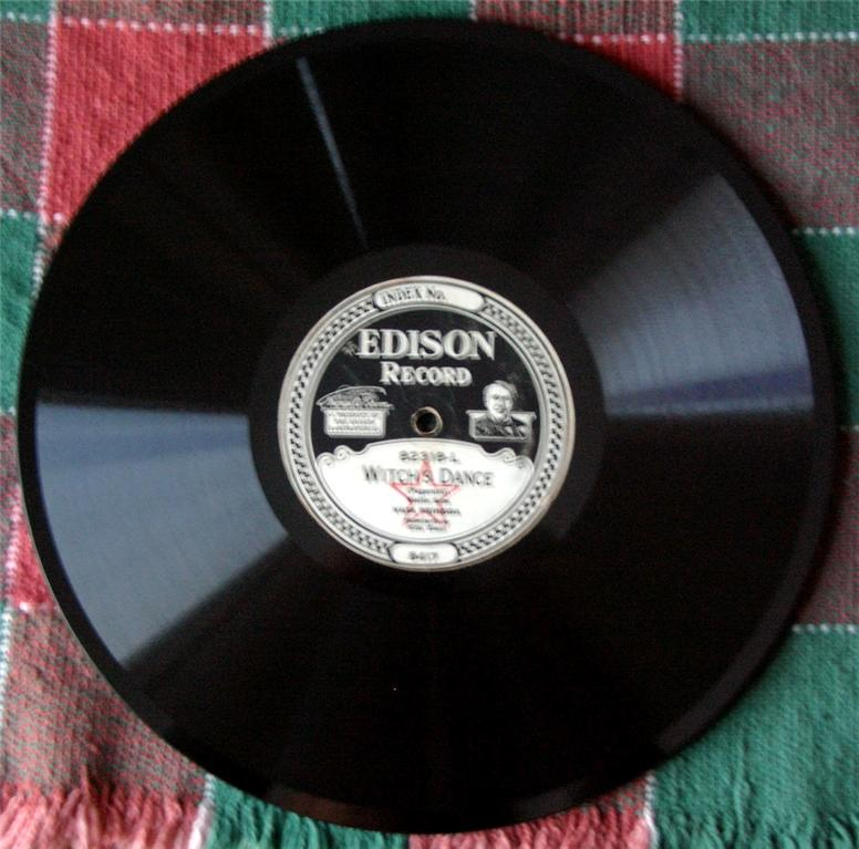 edison disc records value